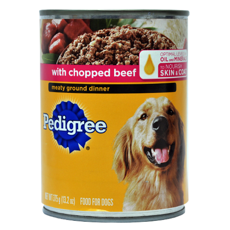 Pedigree With Chopped Beef 13 2oz